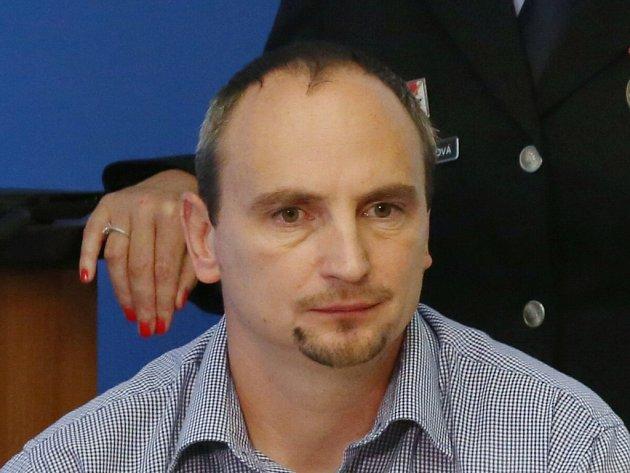 Tomáš Kohout, vedoucí odboru oddělení obecné kriminality.