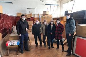 Místostarostové městského obvodu Ústí nad Labem - Střekov minulý týden navštívili tělocvičnu ve Svádově.