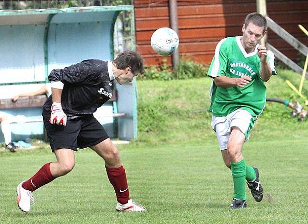 TJ Božtěšice (zelení)  :   TJ Svádov - Olšinky B   ( bílí)