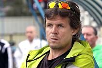 Trenér Střekova Martin Beran.