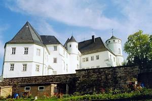 Hrad vděčí za vznik dolování cínu u Geisingbergu a pánům z Bernsteinu, kteří jej nechali vystavět.