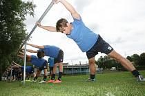 Ústečtí fotbalisté zahájili přípravu na novou sezonu. Na prvním tréninku se sešlo 24 hráčů.