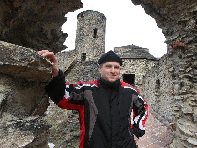 Hrad Střekov a jeho kastelán Pavel Kučaba.
