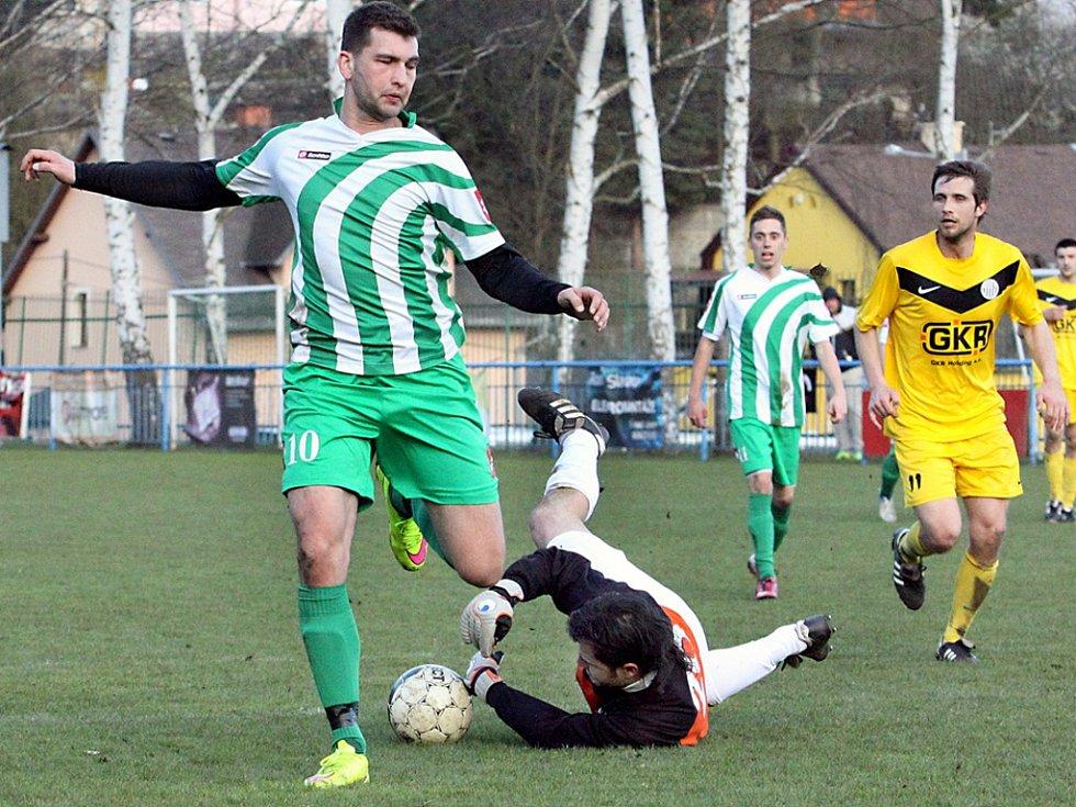 Fotbalisté Libouchce doma nečekaně prohráli.