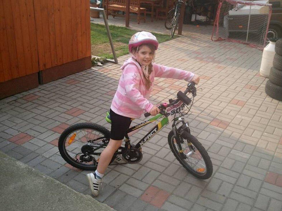26. BARUNKA HANUSKOVÁ, 7 let, Ústí nad Labem.