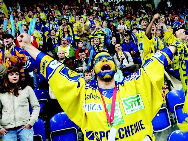 Ústečtí fanoušci patří k nejlepším v soutěži a znovu budou hnát svůj tým kupředu.