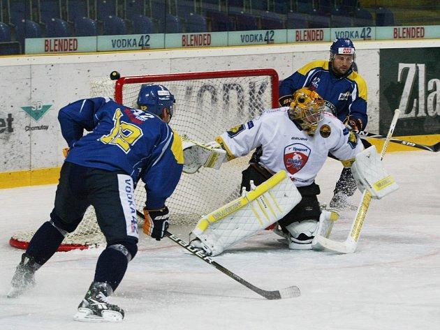 Litvínovští hokejisté v extraligové generálce propadli. V Ústí prohráli 1:4.