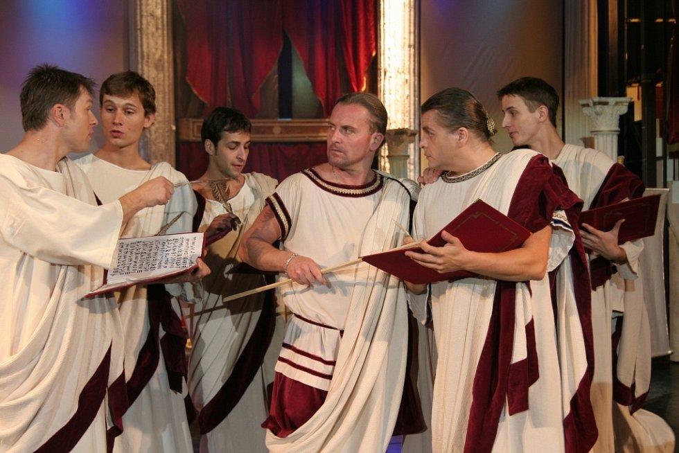 Muzikál Kleopatra si Ústí užije v pátek 21. června v amfiteátru Letního kina.