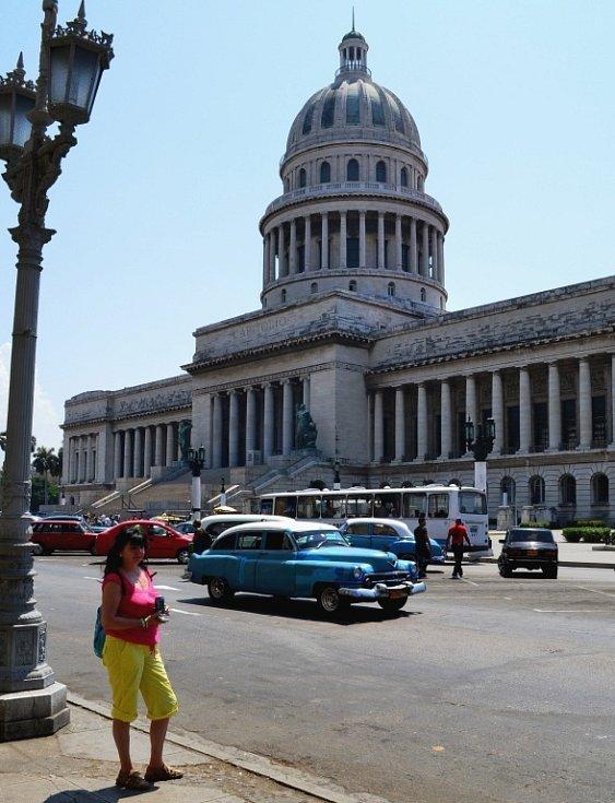 Jitka Peterková z Ústí v kubánské Havaně.