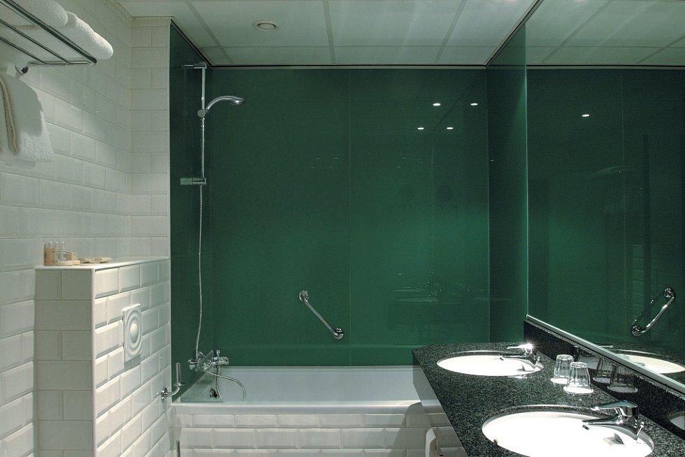 Antibakteriální sklo.