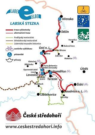 Cyklobus, ale také motoráčky můžete vletních měsících cestovat a využívat kpoznávání přírodních krás a památek voblasti Českého středohoří.