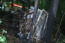 U Kojetic zemřel při nehodě řidič.