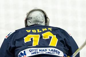 Hokej ilustrační. Martin Volke.