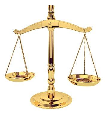 Justiční váhy - ilustrační foto