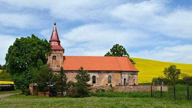 Kostel sv. Jiljí v Libyni na Lounsku