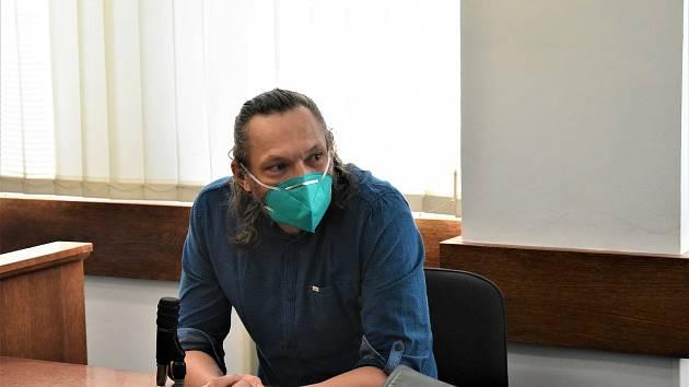 Obžalovaný Martin Konopásek.