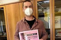 Severočeská vědecká knihovna ocenila nejlepšího e-čtenáře. Stal se jím Milan Svoboda.