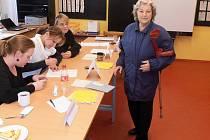 Gertruda Franková přišla volit po dvaceti letech.