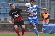 Pavel Pilík v dresu Ústí nad Labem v utkání s Opavou