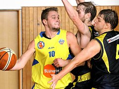 Basketbalisté Slunety USK. Ilustrační foto.