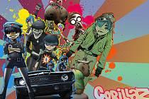 I slavní Gorillaz jsou lákadlem festivalu v Týnci.