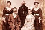 Rodina Márciova předka Josefa Staffena, který se narodil ve Smržovce a vystěhoval do Brazílie.