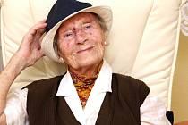 Anna Walterová, 102letá Ústečanka.