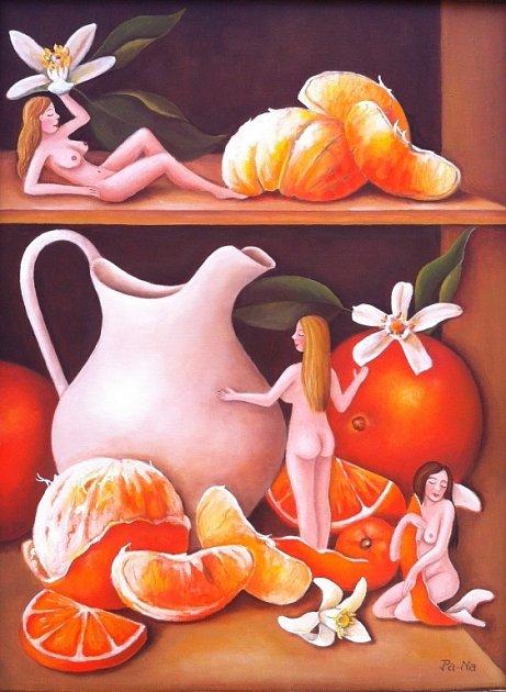 Vůně pomeranče.