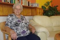 Seniorka z Velkého Března chce ještě zažít let vrtulníkem.