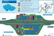 Vizualizační plán nového parkoviště ve Varvažově