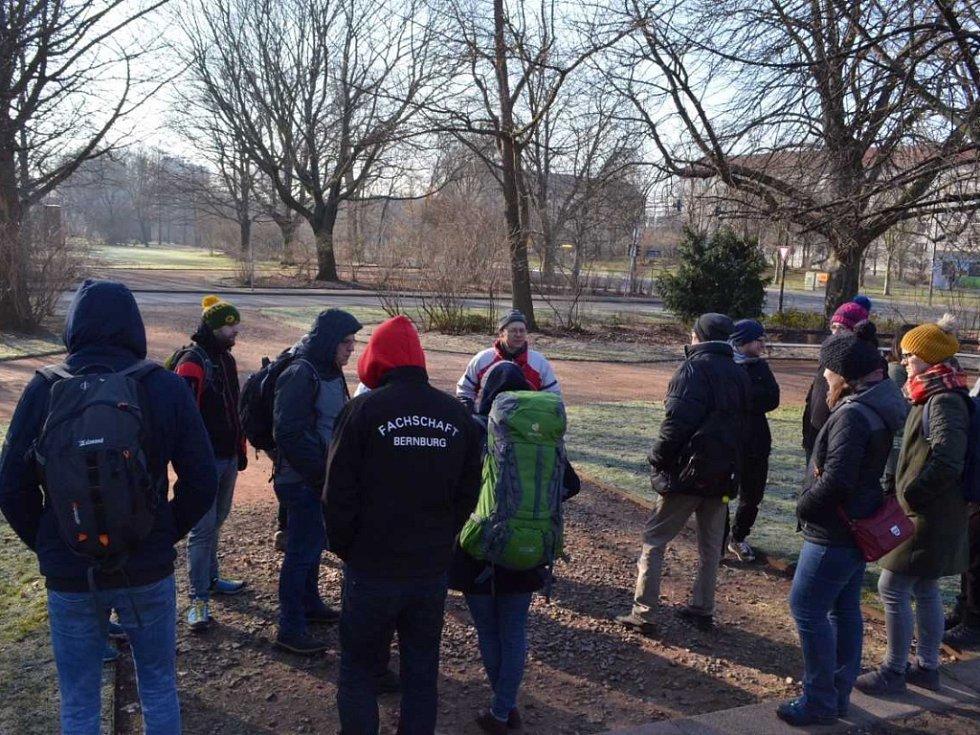 Studenti UJEP hodnotili v Drážďanech zelené plochy