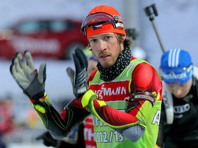 Biatlonista SKP Jablonex Jaroslav Soukup.