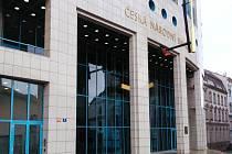 Budova České národní banky v Ústí nad Labem.