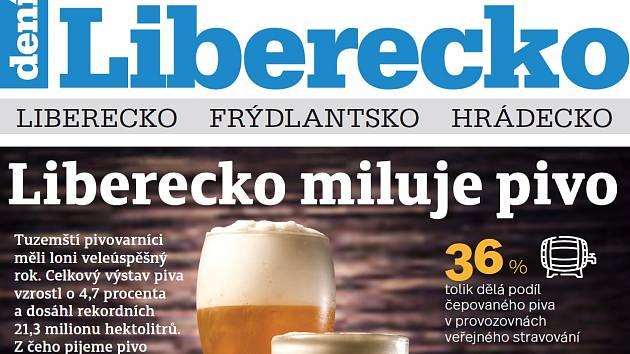 Nové vydání Týdeníku Liberecko