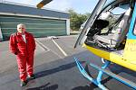 Pavel Špilka, dlouholetý pilot záchranářského vrtulníku a zaměstnanec provozovatele letecké záchranné služby DSA