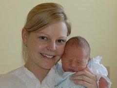 Michaela Hocková,  porodila v ústecké porodnici dne 13. 3. 2012 (13.45) syna Daniela (50 cm, 3,4 kg).