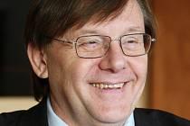 Rektor Univerzity J. E. Purkyně René Wokoun.
