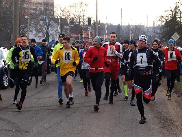 Běhu Oparenským údolím se zúčastnilo 112 závodníků.
