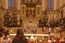 Zahájená výstavy v kostele Nanebevzetí Panny Marie.