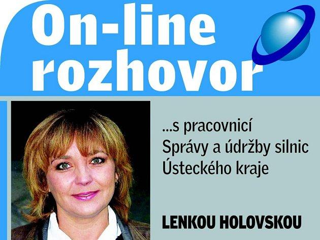 Hostem on-line rozhovoru bude Lenka Holovská ze Správy a údržby silnic.