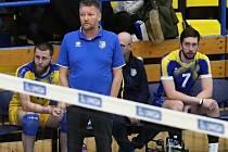 Ústecký trenér Petr Brom.