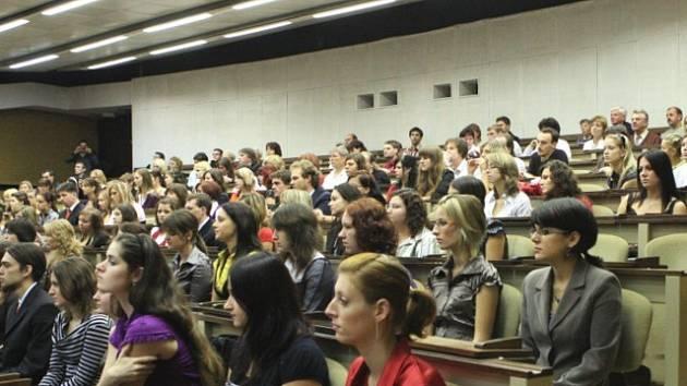 Slavnostní imatrikulace na Univerzitě Jana Evangelisty Purkyně