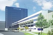 Vizualizace plánovaného justičního areálu v Ústí nad Labem, který se objevil i v Národním investičním plánu. Tento projekt se přitom chystá už dlouhou dobu.