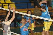 Volejbalisté Ústí si vyšlápli na favorizovanou Příbram.