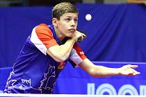 Stolní tenista ústeckého Slavoje Tomáš Polanský vybojoval na šampionátu v Ostravě tři zlaté a jednu stříbrnou medaili.