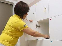 Celkem 299 bezpečnostních skříněk získaly nemocnice Krajské zdravotní díky podpoře Ústeckého kraje.