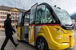 Ve švýcarském městě Sion už dva minibusy testují.