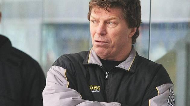 Trenér ústeckých hokejových juniorů Jan Neliba.