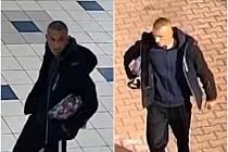 Policie pátrá po tomto muži, zachyceném kamerou u všebořického obchodního centra Tamda