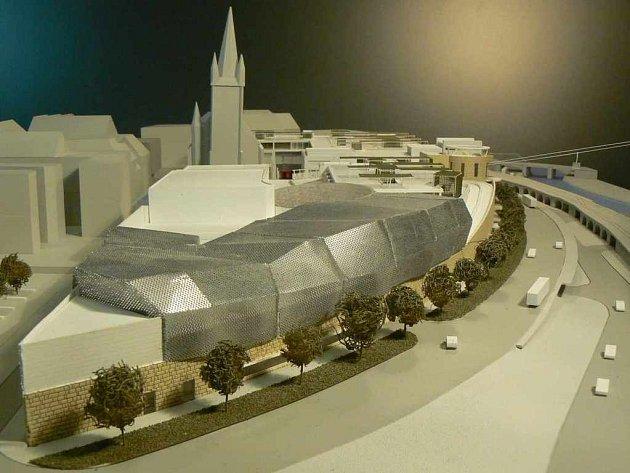 Budoucí podoba obchodního centra Forum